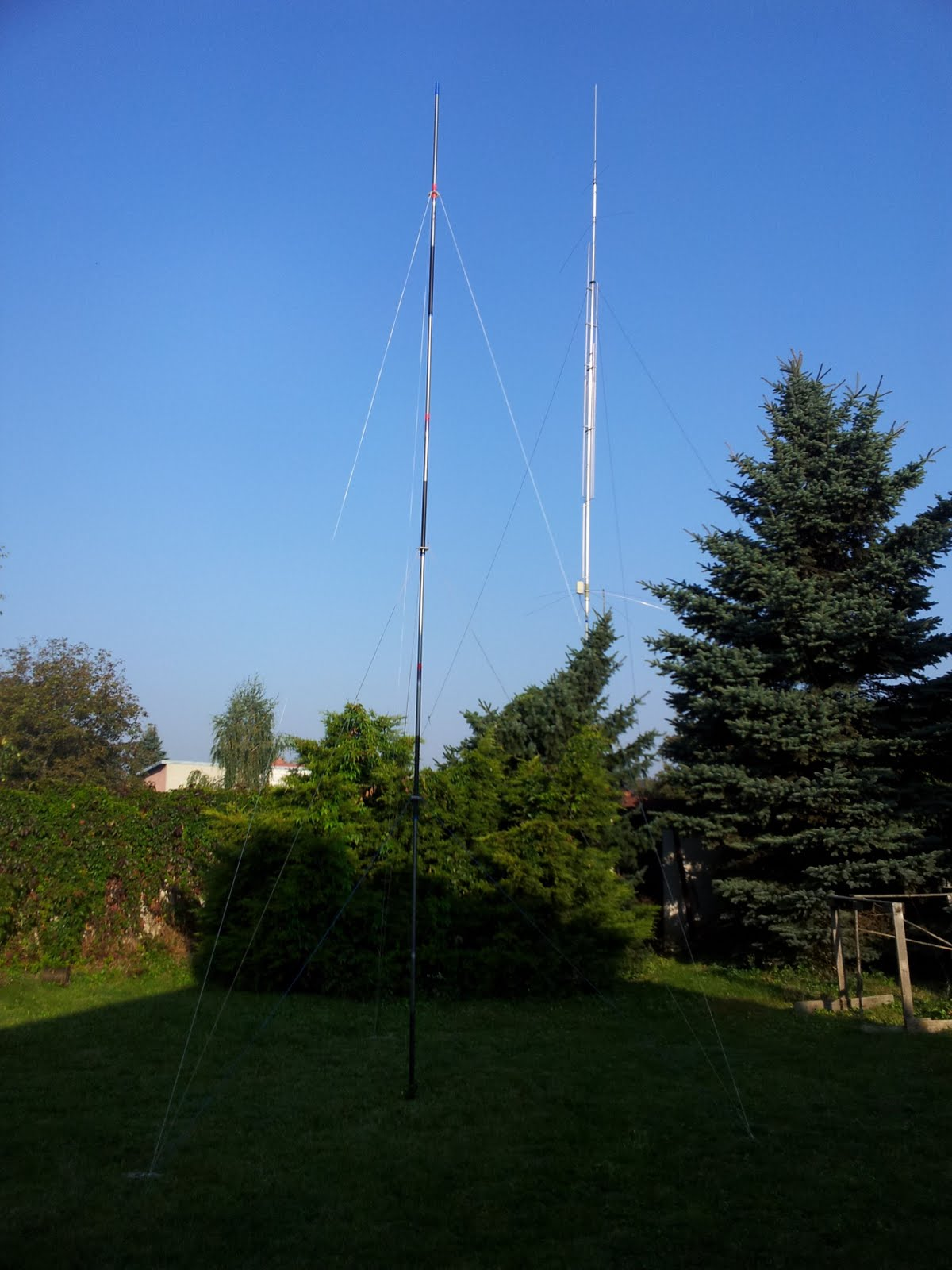 One of my multi band KF antenna - not so effective